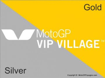 Billet GOLD+SILVER MotoGP VIP VILLAGE™ Aragon
